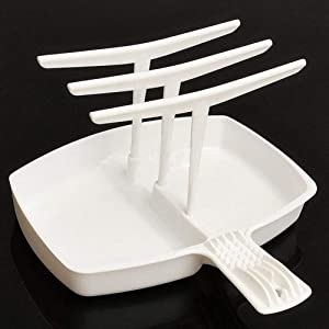 Microwave Bacon Tray, Hanger Cooker Tray for Cook Bar Crisp Breakfast Meal Home Dorm Use Tools Bacon Cooker Cooking Tool