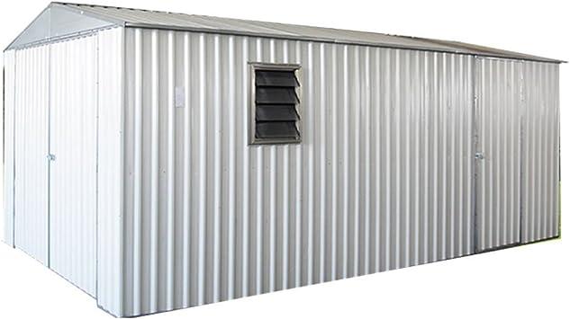 Weizhengheng CG05 - Garaje para coche (acero ligero, con puerta corredera): Amazon.es: Jardín