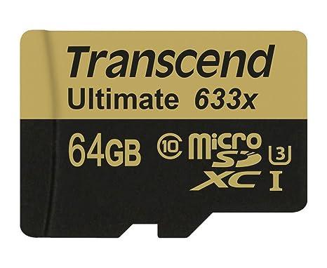 Transcend Ultimate TS64GUSDU3 - Tarjeta de memoria de 64 GB (UHS-I ...