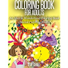 COLORING BOOK FOR ADULTS An Alice in Wonderland Coloring Book: Lovink Coloring Books