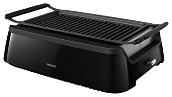 Amazon.com: Philips Smoke-less Indoor Grill HD6371/94: Kitchen ...
