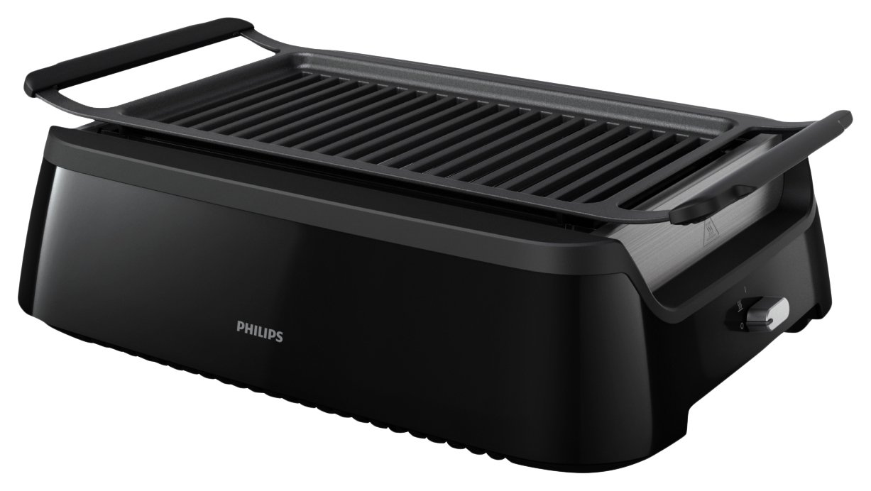 Philips Smoke-less Indoor Grill HD6371/94 by Philips