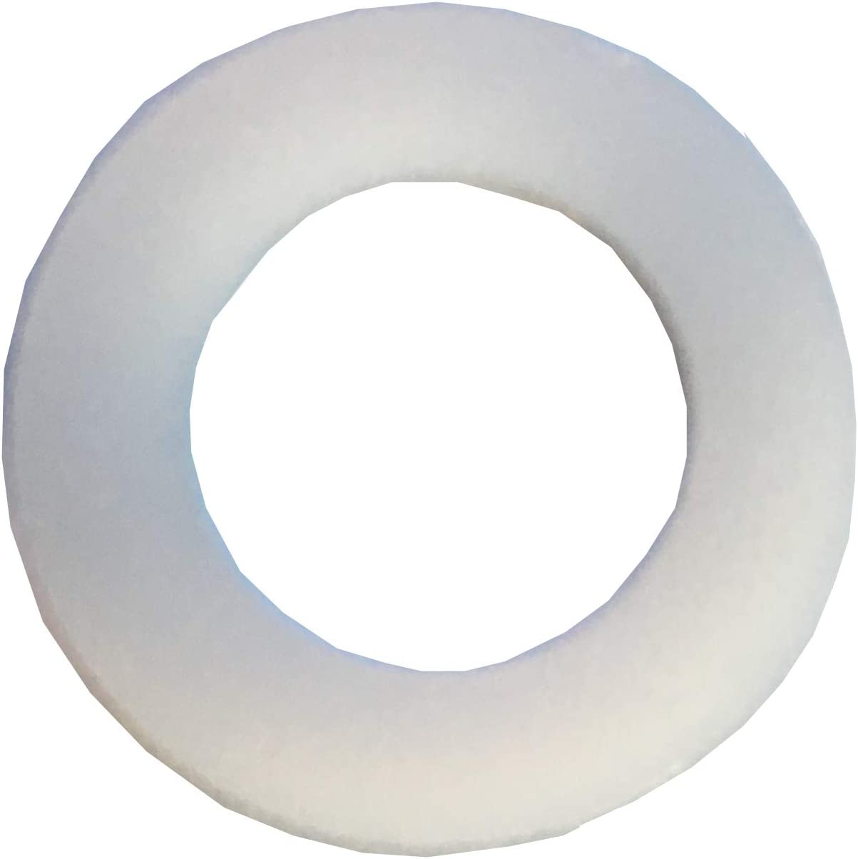 50 5//16 Nylon Flat Washers .343 I.D .062 Thick Clipsandfasteners Inc