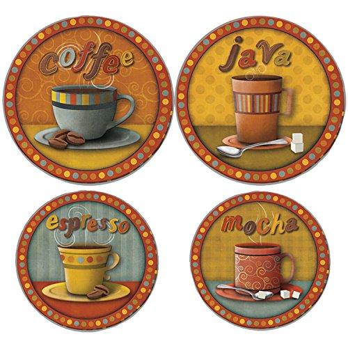 RANGE KLEEN 5083 Morning Refreshments Round Burner Kovers...