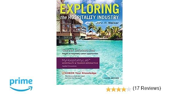 Workbook custom handwriting worksheets : Exploring the Hospitality Industry (3rd Edition): John R. Walker ...