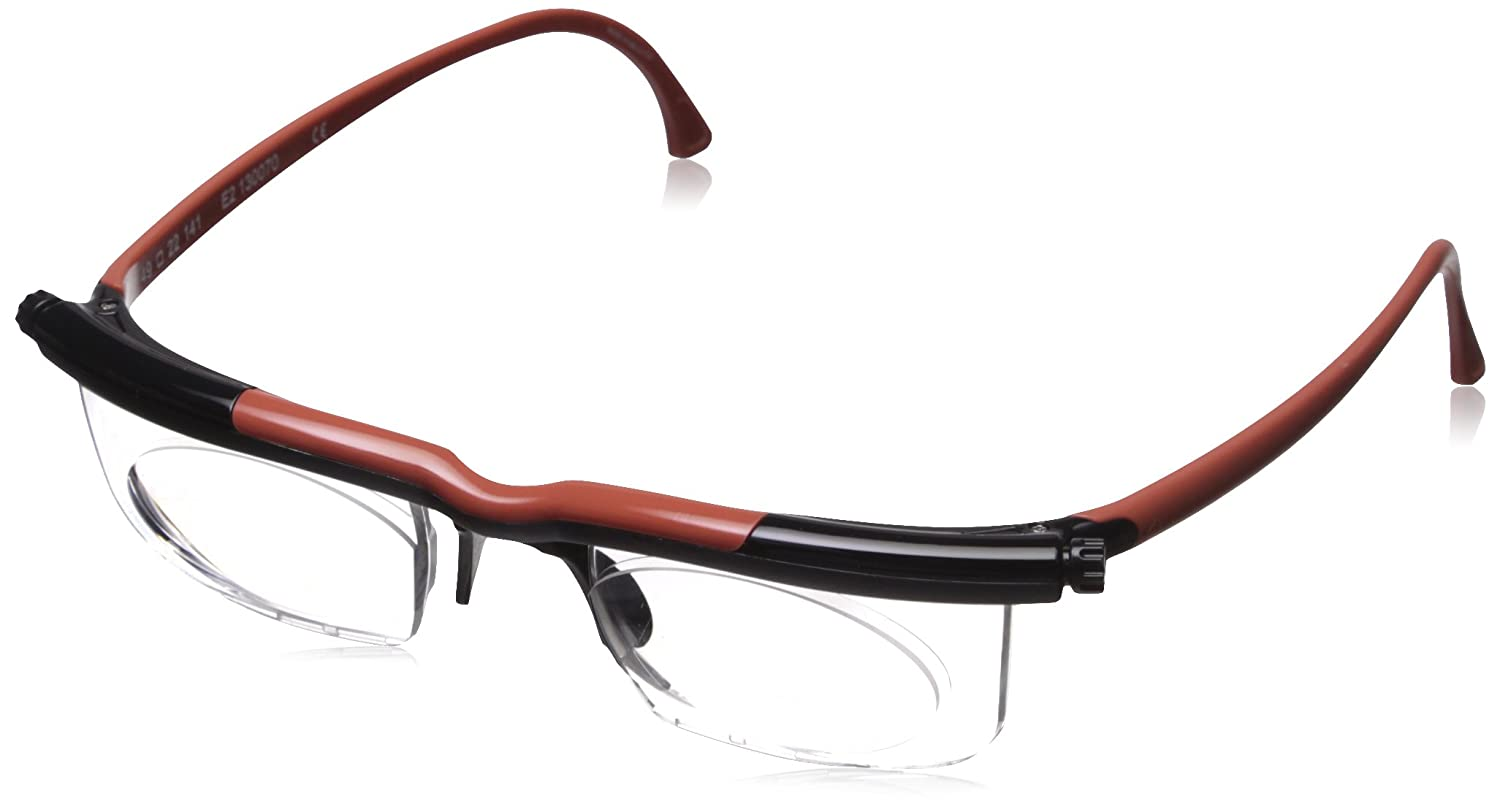 Adlens Adjustables Variable Focus Eyeglasses - You Set the Magnification for a Perfect View RDBK by ADLENS