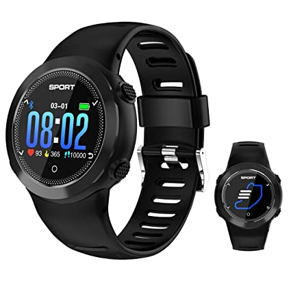 Amazon.com: Fitness Smartwatch, All-Day Heart Rate and ...