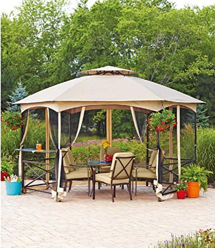 Cheap Sunjoy Replacement Canopy Set for Vineyard Gazebo