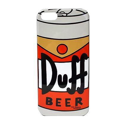 Amazon.com: Carcasa rígida para iPhone 5 – Simpsons – Duff ...