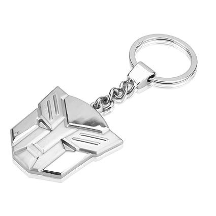 dandingding Transformers forma titanio acero llavero Coche ...