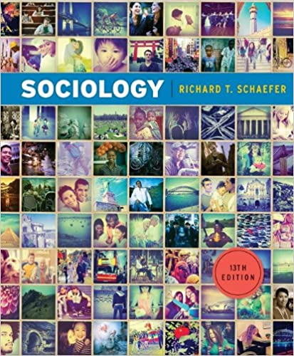 Sociology 13th edition richard t schaefer 9780078026669 amazon sociology 13th edition richard t schaefer 9780078026669 amazon books fandeluxe Image collections