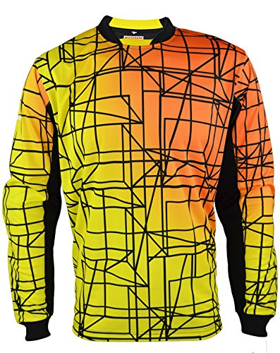 Vizari Ravenna Gk Jersey Size Yellow/Orange/Black, Ys