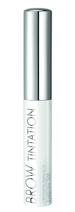 Brown Tintation - Talika - Tinte de cejas en casa - Coloración natural de cejas - Tinte de cejas de larga duración semi-permanente - No oxidativo - ...