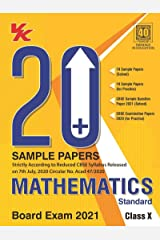 20 Plus CBSE Sample Papers Mathematics (Standard) Class 10 for 2021 Exam with Reduced Syllabus Kindle Edition