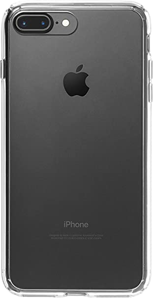 Amazonbasics Mobile Case For Apple Iphone 7 Plus Clear Amazon In Electronics