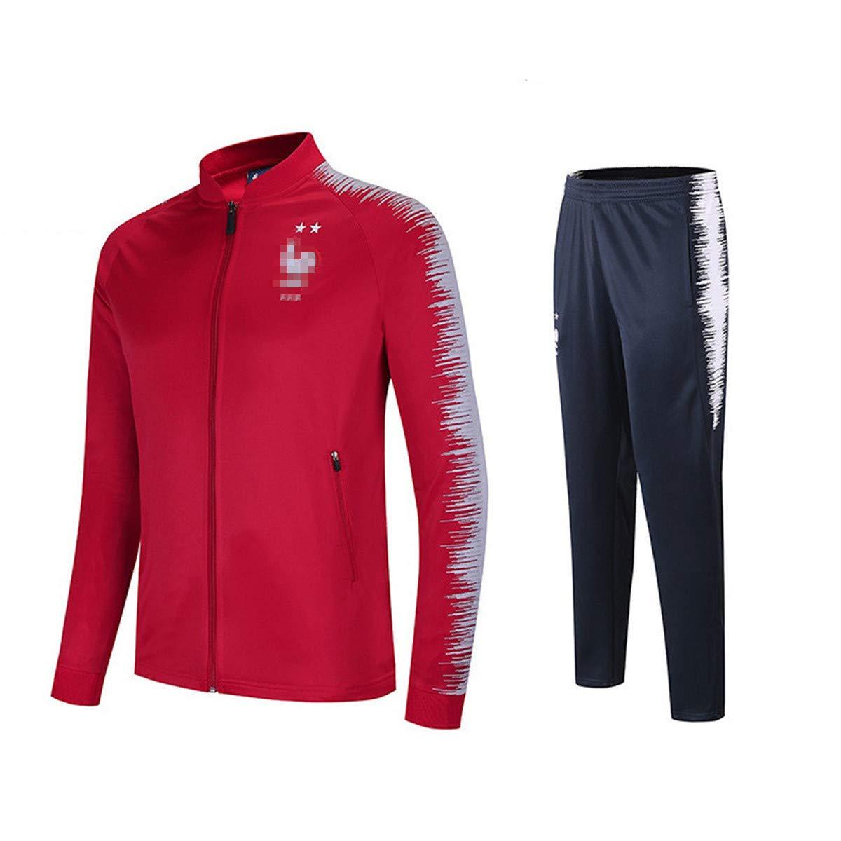 6300ce0f1834c Survêtement Homme Garçon Ensemble Hiver Vêtement Foot L'équipe de France 2  étoiles Champion du Monde