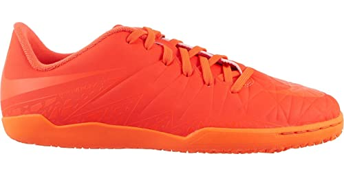 7ad45b721 Image Unavailable. Image not available for. Color  Nike Kids  Jr. Hypervenom  Phelon II IC Indoor Soccer Shoe ...