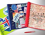 A5 Filofax Clipbook Refillable Notebook Binder