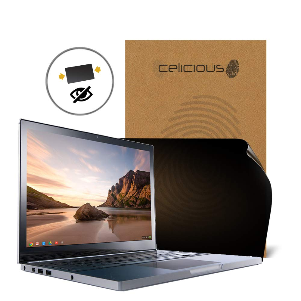 Celicious Privacy 2-Way Anti-Spy Filter Screen Protector Film Compatible with Google Chromebook Pixel