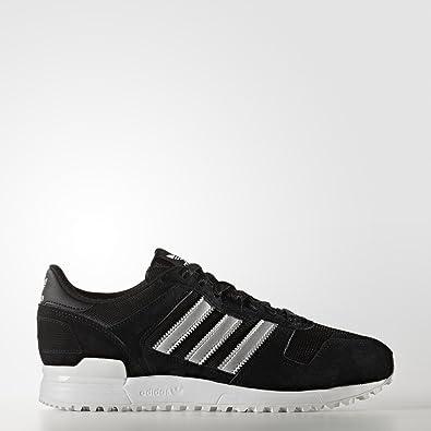 422236dfb adidas ZX 700 Shoes core Black Matte Silver Utility Black 2017 Originals   Amazon.co.uk  Shoes   Bags