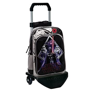 Star Wars 21923M1 Darth Vader Mochila Adaptable a Carro, Color Negro: Amazon.es: Equipaje