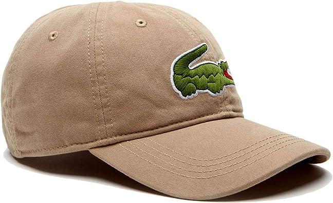 Gorra Lacoste Big Croc Beige Hombre TU Beige: Amazon.es ...