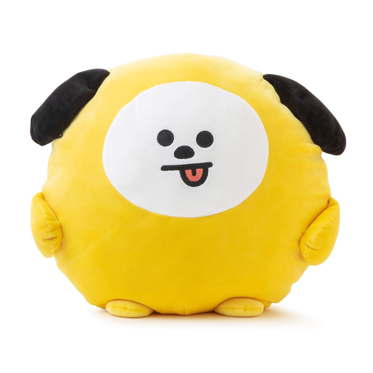 BT21 Official Merchandise by Line Friends - CHIMMY Character Pong Pong Cushion 11.8 Inches by BT21