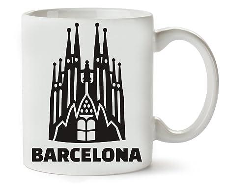 PC Hardware Store Barcelona Sagrada Familia Taza para Café Y Té