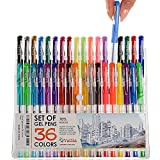 Best Coloring Pens For Adults - Colored Pens - Gel Pens - Adult Coloring Review
