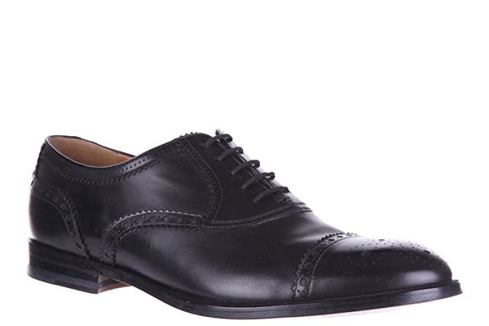 4ac44510bd2 Gucci Men s Classic Leather Lace up Laced Formal Shoes Oxford Betis Glamour  Black UK Size 9.5 312279 BLM00 1000  Amazon.co.uk  Shoes   Bags