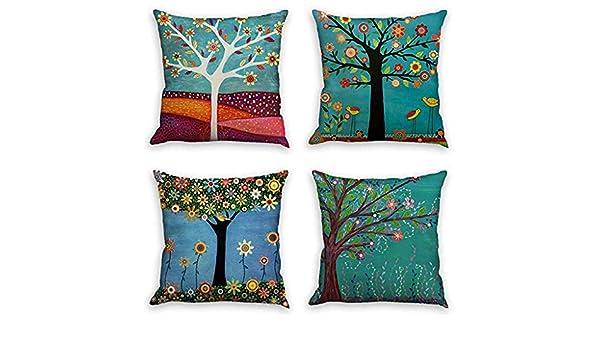 Newkelly Dyeing Funda de cojín para sofá, cama, decoración ...