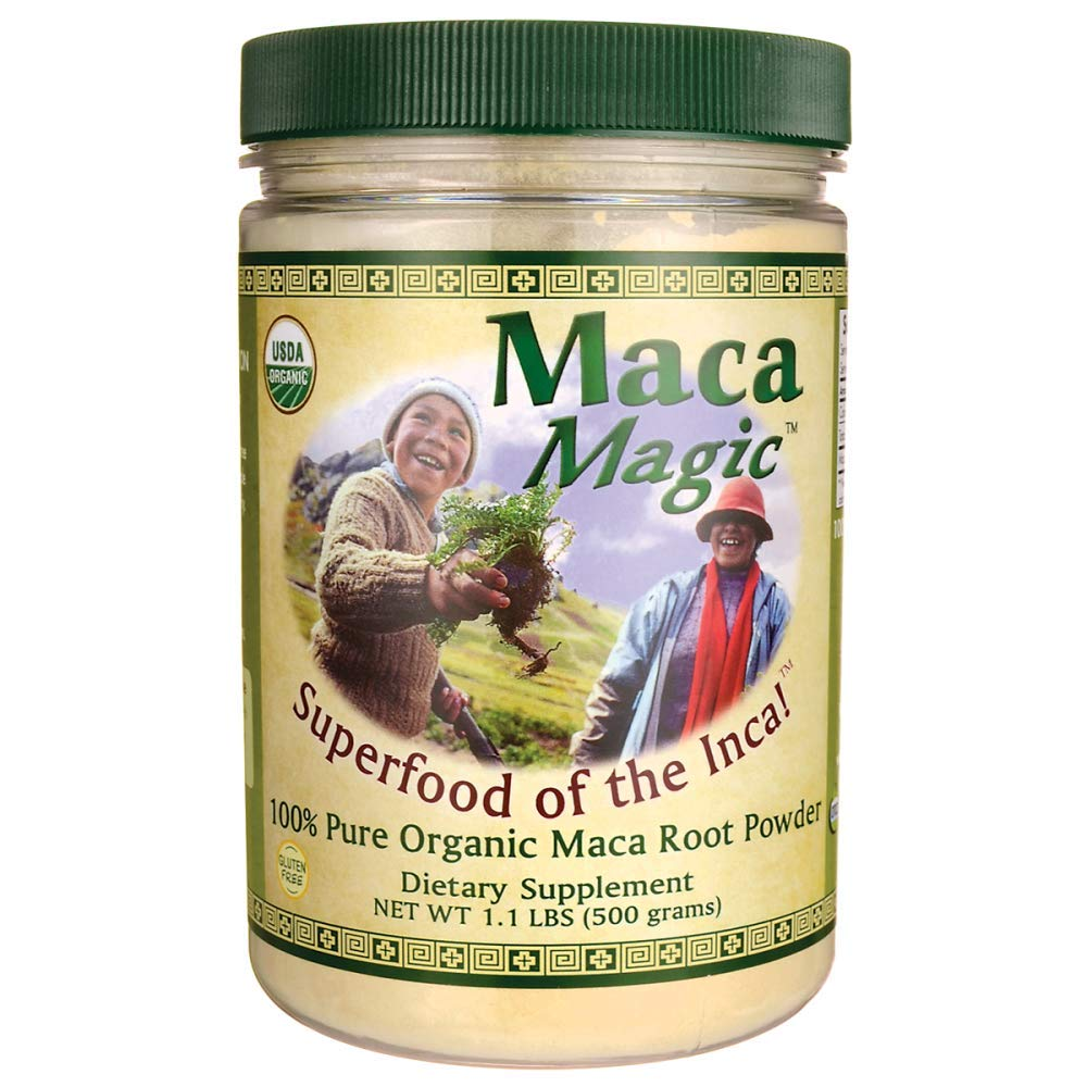 Maca Magic Powder Jar, 1.1 Pound by Maca Magic