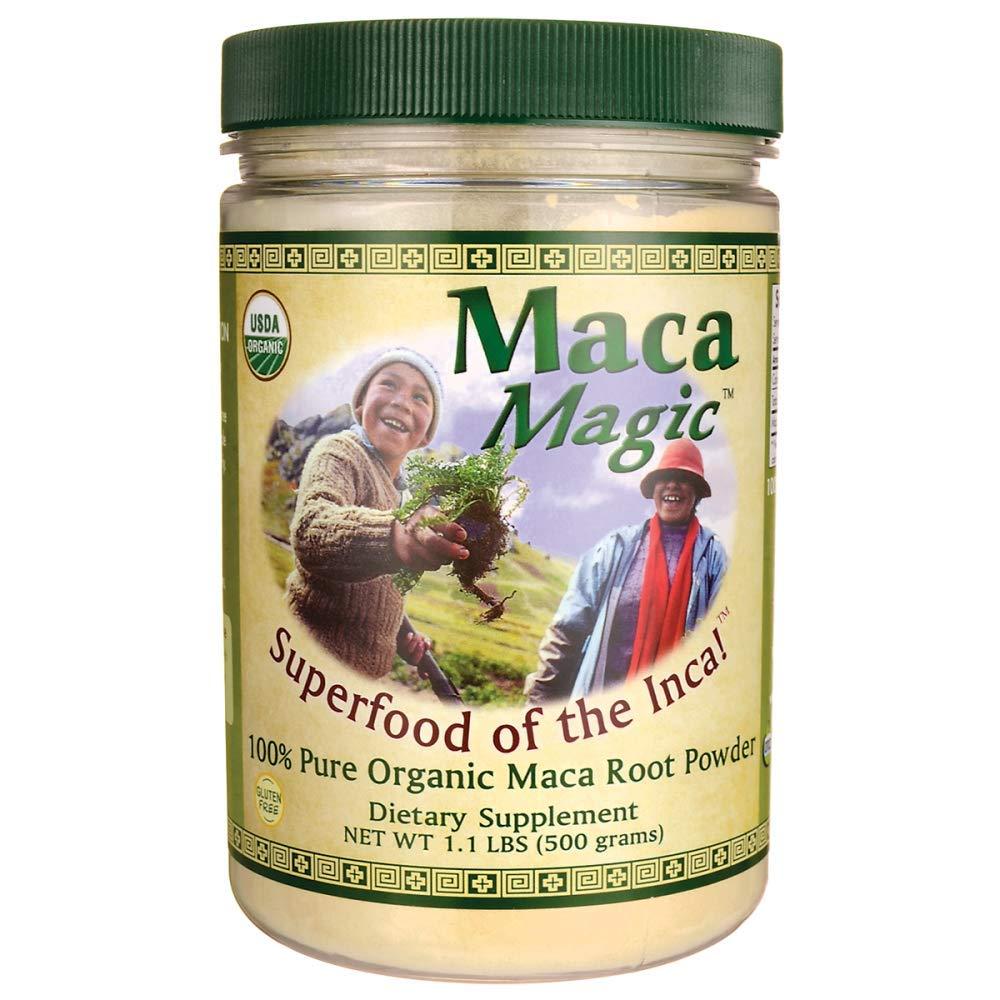 Maca Magic Powder Jar, 1.1 Pound
