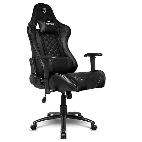 Empire Gaming Chaise Gamer Racing 700 Series Noir Ergonomique Et