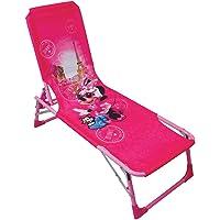 Fun House 712893 DISNEY MINNIE Bain de Soleil/Transat pliable pour Enfant
