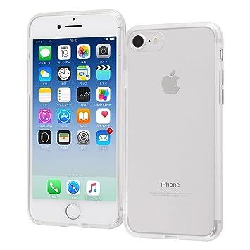 fb8f742fdd レイ・アウト iPhone8 / iPhone7 ケース Qi 充電 対応 ハイブリッド クリア RT-P14CC2/