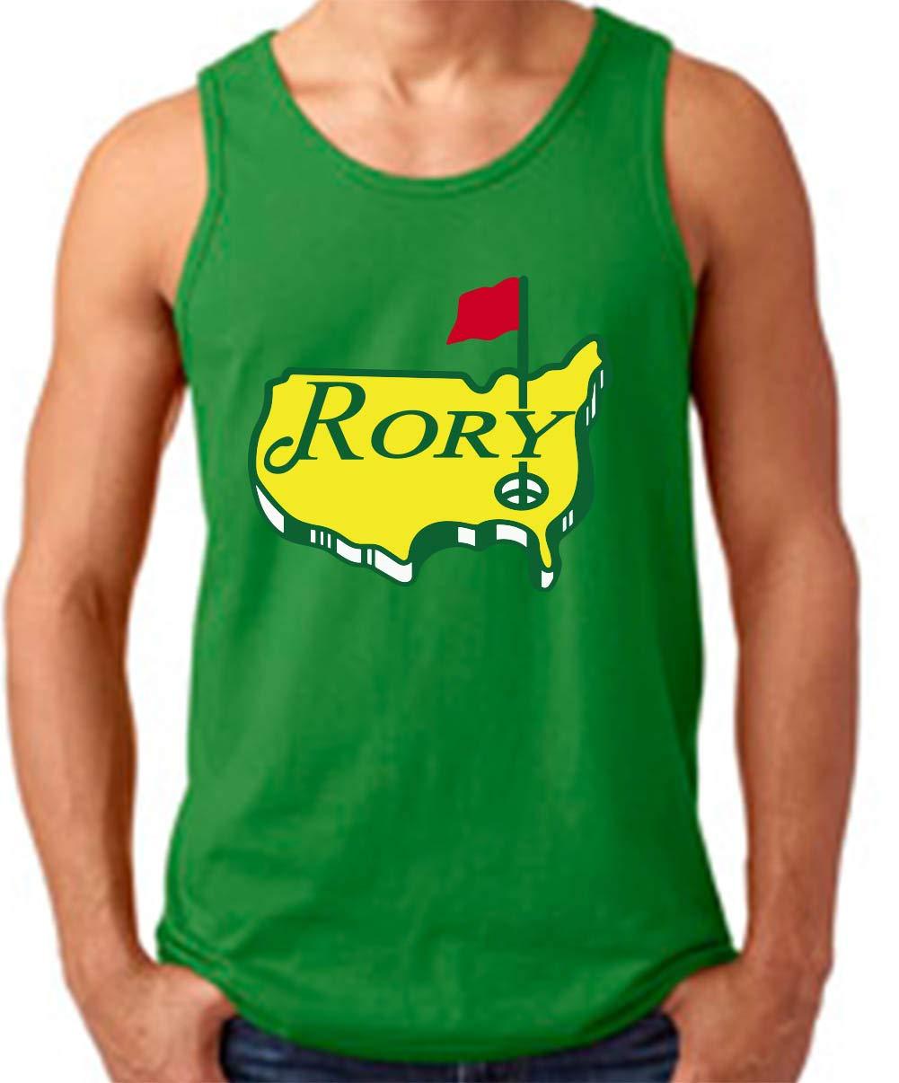 Green Rory The Masters Logo Tank Top Shirts