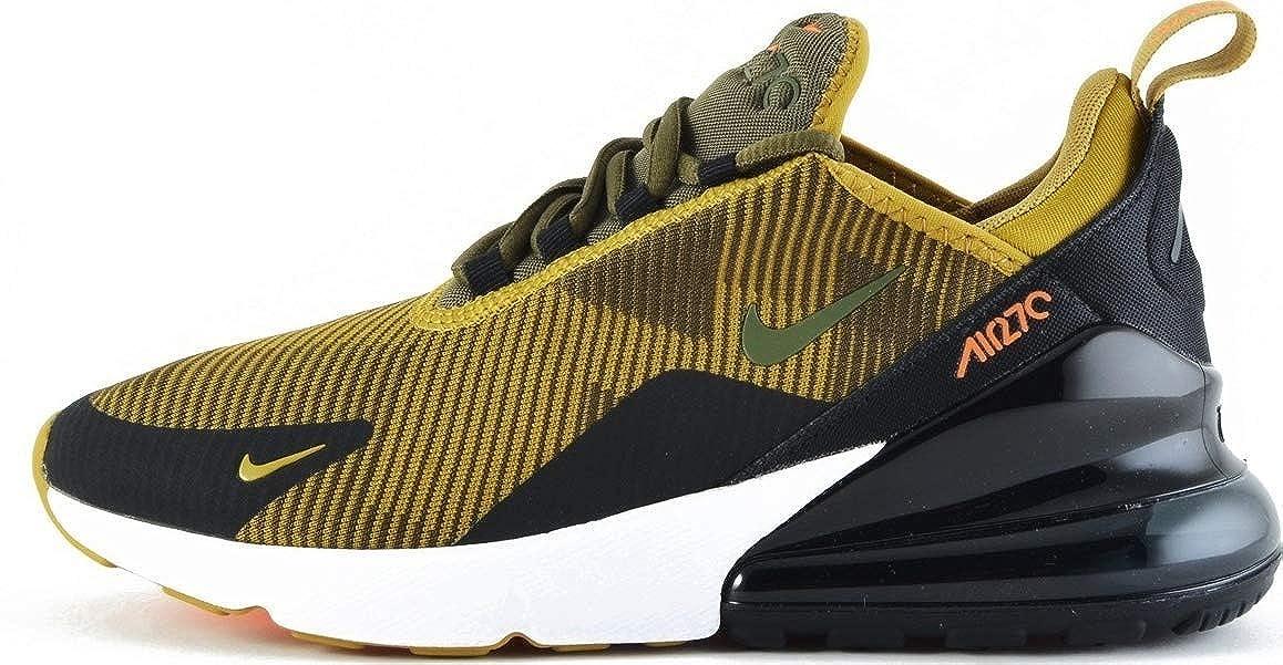 MultiCouleure (oren Moss Olive Canvas noir blanc 300) Nike Air Max 270 Kjcrd (GS), Chaussures de Running Compétition garçon 35.5 EU