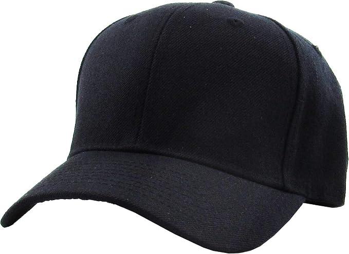 "Plain Green Flat Peak Fitted Baseball Cap 7 1//4/"""