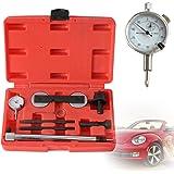 SHIOUCY Motor Ajuste portaherramientas Cambio de Cadena de impuestos Reloj comparador Soporte + Reloj de medición para…
