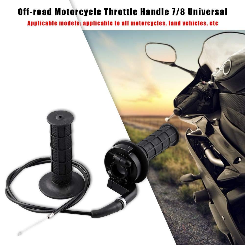 Kabel f/ür 7//8 50 150 250ccm Dirt Pit Bike ATV Yanten Twist Gasgriff