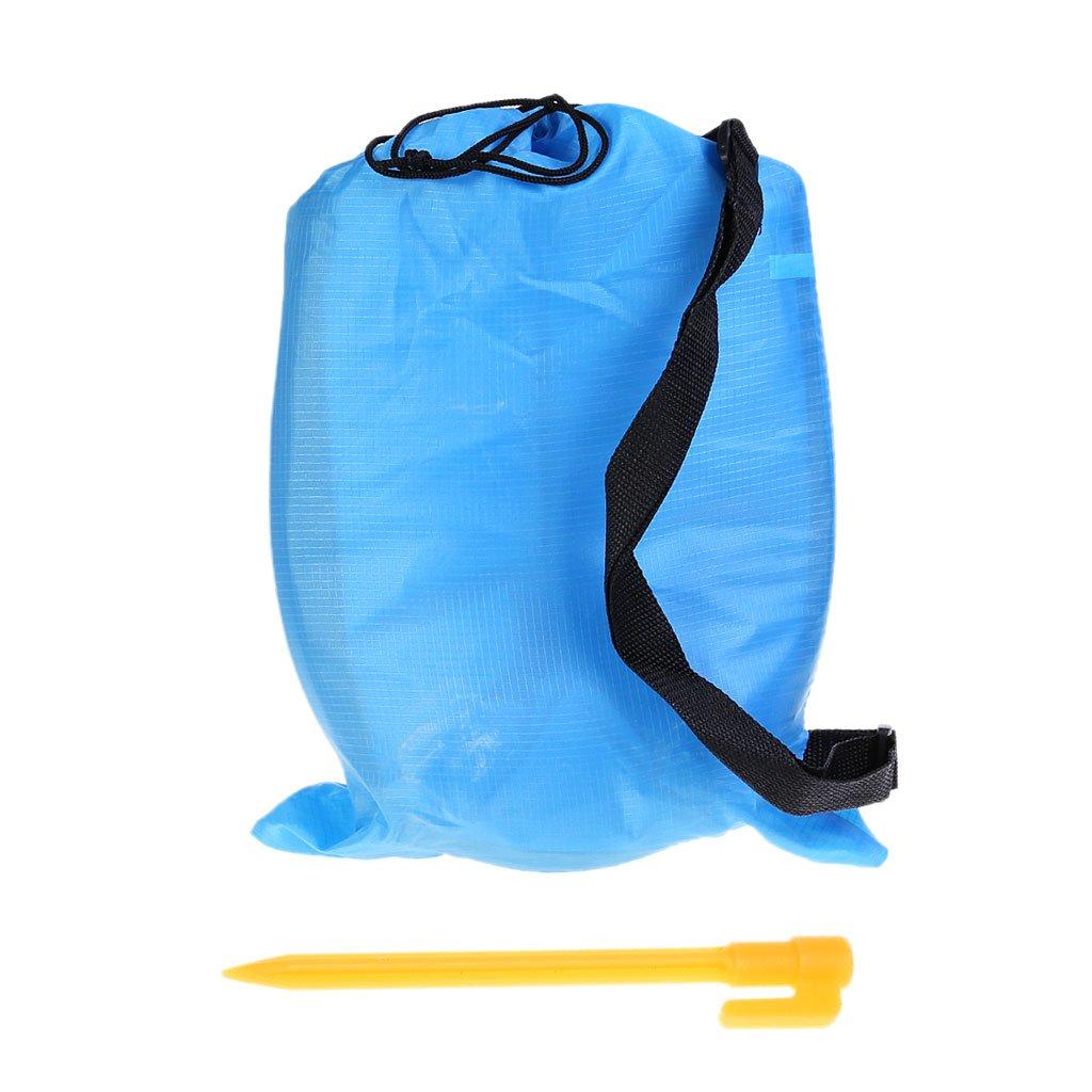Ranuw Gonflable Air Canapé Chaise Longue Lazy extérieur Camp randonnée Plage Voyage Couchage lit