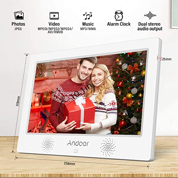... (Reproductor MP3 y MP4) Video/E-Book,Despertador,Calendario,con Control Remot,Tarjeta de Memoria 8 GB,Regalo para Navidad: Amazon.es: Electrónica