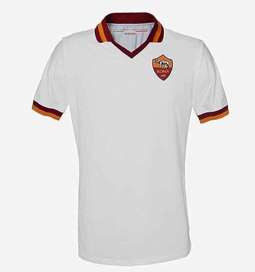 b8d1d457b AS Roma Away Shirt 2013 14 - (UK-XL  EU-XXL  Slim fit)  Amazon.co.uk   Clothing
