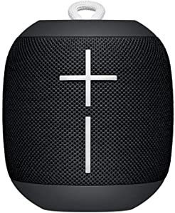 Logitech UE WONDERBOOM Portable Waterproof Bluetooth Speaker - Wireless Boom Box - Phantom Black - Bulk Packaging