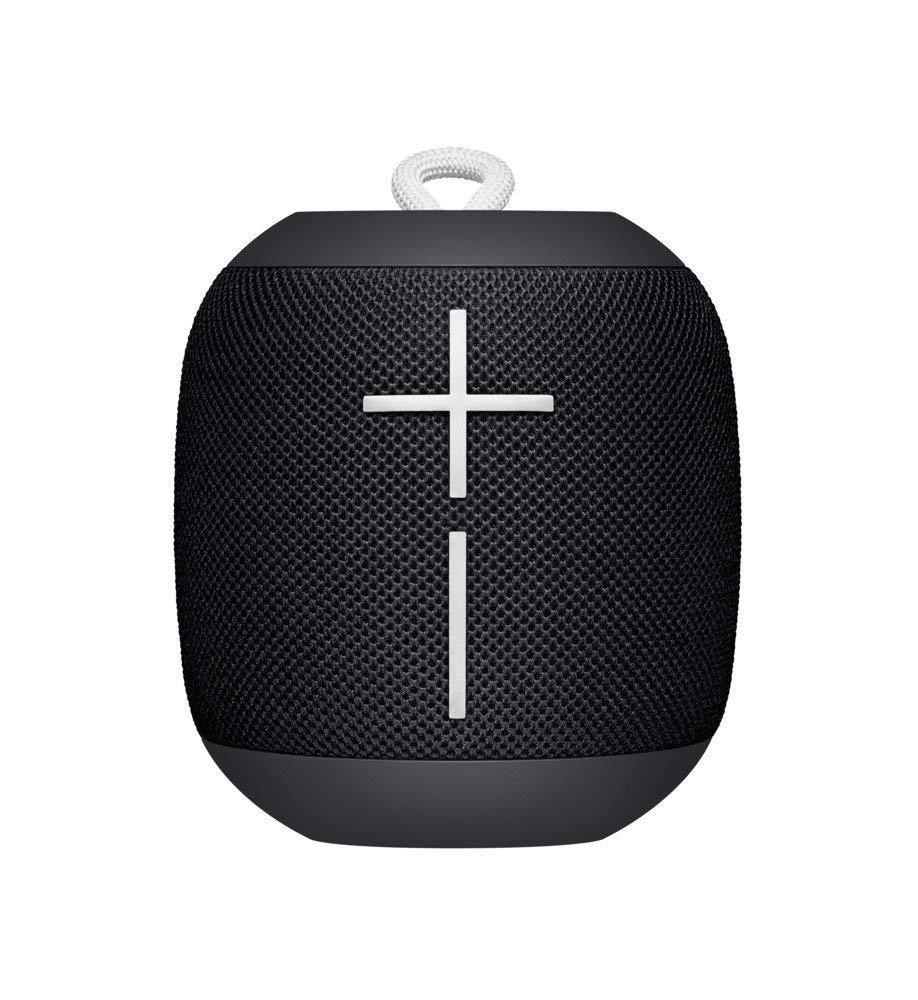 Logitech UE WONDERBOOM Portable Waterproof Bluetooth Speaker - Wireless Boom Box - Phantom Black - Bulk Packaging