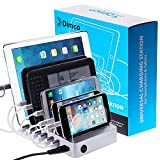 Dimco USB Fast Charging Station - works with Apple iPhone iPad iPod Kindle Fire - Android micro USB Cell Phone charging station dock - Universal tablet cell phone docking station for multiple devices