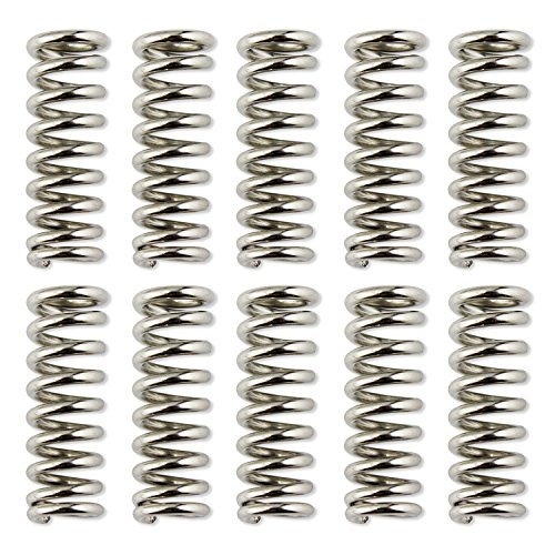 OCR  Heated Bed Compression Spring 7.5mm For 3D Printer Extruder DIY Accessories 10pcs