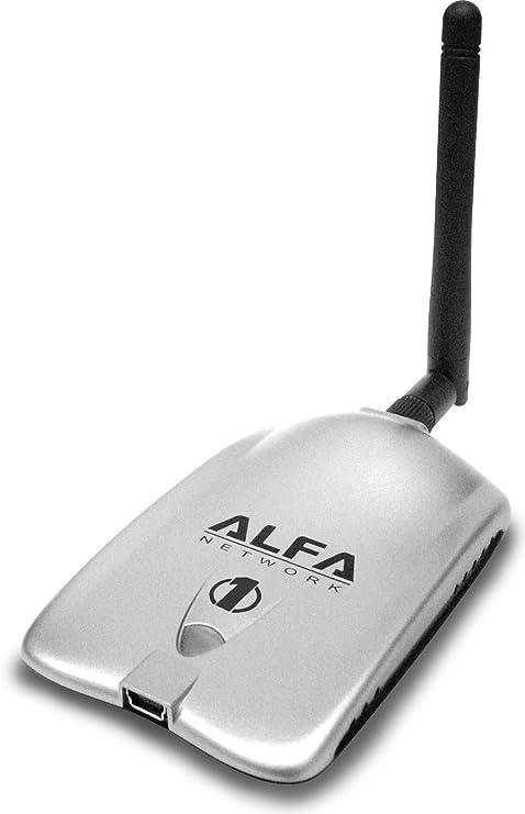 ALFA Network AWUS036H Adaptador y Tarjeta de Red - Accesorio de Red (Inalámbrico, USB, WLAN, 54 Mbit/s, Realtek 8187L, IEEE 802.11b, IEEE 802.11g) ...