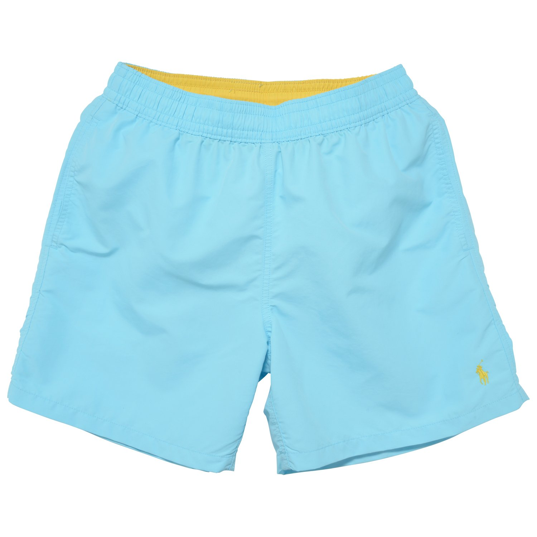 1c889f343e Polo Ralph Lauren Men's Hawaiian Solid Swim Trunks Short-B-XL   Amazon.com